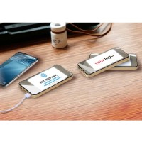 Power bank IPhone Shape Mobile Charger with light up Logo