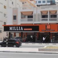 MILLIA - BACKLIT BANNER BOARD