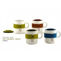 Promotional Coffee Mug Ceramic-Jacket