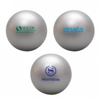 PU Stress Ball Silver