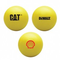 PU Stress Ball Yellow