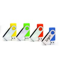 Rotatable USB Flash Drive with Logo Printing