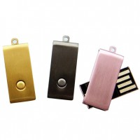 Rotate Metal  micro USB Flash Drive