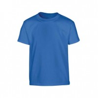 Round Neck T-Shirt- Blue