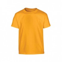 Round Neck T-Shirt Yellow