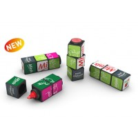 Promotional Rubiks Magnetic Highlighter Set
