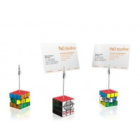 Rubiks Cube Memo holder Clip