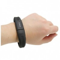 Silicone Wrist Band USB2 Flash Drive