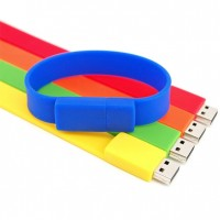 Silicon Wrist Band USB Flash Drive1