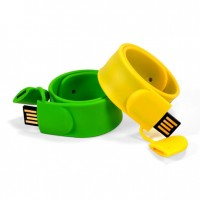 Silicone Snap Band USB Flash Drive