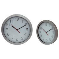 Sliver Wall Clock Round Shape