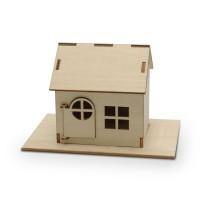 Diy Wooden Solar Power House